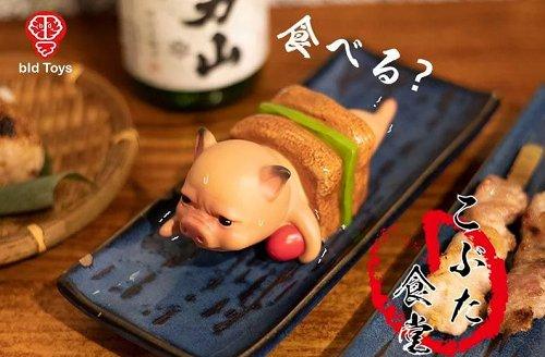 么舍得吃猪猪!Bid Toys粗猪食堂,肚子被做成美食的超委屈猪猪公仔,疗愈的让人好想咬一口~