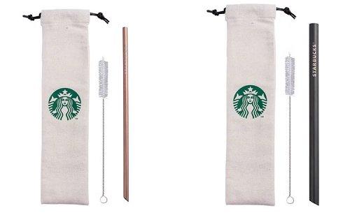 星巴克推出环保吸管、后背包、复古咖啡机等实用周边,加码新系列女神杯款,古典外型超生火!