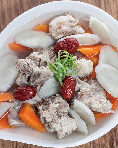 牛蒡红枣排骨汤