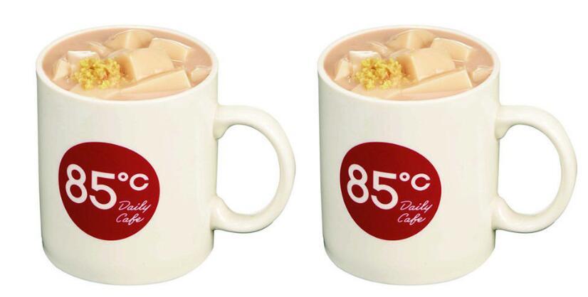 豆花控必喝!85度C推出新品豆花奶茶、姜汁豆花,限时特价还不手刀尝鲜!