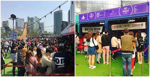 不只辣炒年糕、半半炸鸡2019首尔美食节,半天就能吃遍韩国