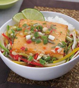 楚留香花生豆腐,雪里红炖豆腐,泰式煎豆腐盖饭
