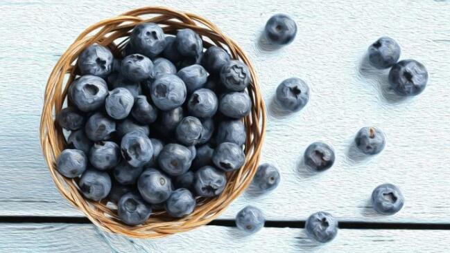 蓝莓的功效与作用,蓝莓的营养价值,蓝莓冰淇淋项链