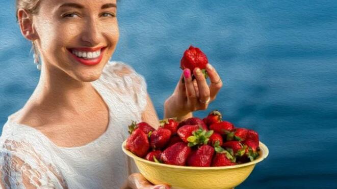 草莓的功效,草莓的营养价值,草莓牛奶汁,草莓牛奶种子