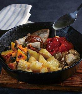 麻酱素什锦是哪个地方的菜,麻酱素什锦是哪里的菜,什锦鲜蔬烤马铃薯
