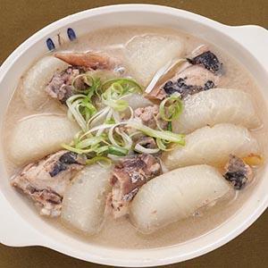 阿花的味噌汤,味噌炖煮白萝卜